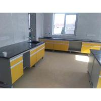 Quality Lab Bench Lab Table 6000*750*850mm Lab Workbench Steel Wood Wall Bench Laboratory Side Bench for sale