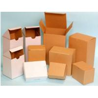 Quality Hard White Corrugated Boxes For Shipping / Moving , UV Coating ISO 9001 Approved for sale