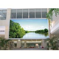 Quality Large 2R1G1B outdoor color led video display screen , led curtain screen for sale