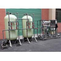 Quality 3TPH RO System Industrial Reverse Osmosis Plant For Borehole Water Treatment for sale