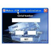 Quality Wabco Diagnostic PIN/PIN2 Calculator with Keygen for sale