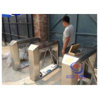 Quality Three Roll Turnstile Barrier Gate Automatic Ticketing Access System 510mm Arm Width for sale