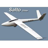 Quality Salto rc glider plane fiberglass fuselage + balsa wing set battery power for sale