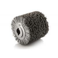 China Outer Winding Spiral Industrial Polishing Brushes Roller Polishing Abrasive Wire on sale