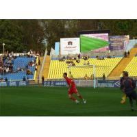 Quality P10 full color outdoor sport led display with High Quality for football/basketball stadium for sale
