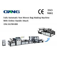 China High Output Handbag Making Machine Non Woven Carry Bag Making Machine 12 Sets Ultrasonic on sale