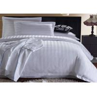 Queen Size / King Size Hotel Bedding Sets 4 Pieces Most Comfortable Custom Color