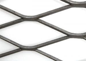 Quality Vessels Bridges Expandable Wire Mesh , Silver Rib Lath Sheet for sale