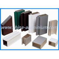 Quality High Quality Powder Ccoating Aluminium Doors Windows Profiles for sale
