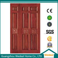 China Fiberglass Door Interior door Yellow Wooden Door For Room/Hotel/Villa In High Quality on sale
