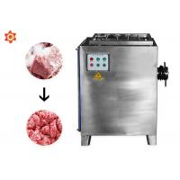 Buy cheap Small Electric Meat Processing Equipment / Meat Mincer Machine Stainless Steel from wholesalers