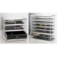 Quality clear Quick Delivery Acrylic Jewelry Box With customer's Logo for sale