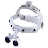 Quality Plastic And Optic Glass Dental Led Headlight 280-380 Mm Working Distance for sale