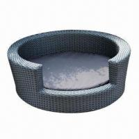 Quality Dog Bed/Pet Kennel/Furniture with Aluminum Frame PE Rattan, UV and Water-resistant for sale
