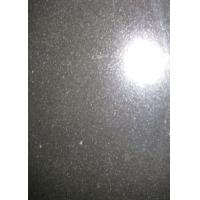 Quality 60 X 60cm Granite Stone Slabs , Basalt Mongolia Black Granite Slab Tile Cube Paving for sale