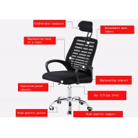 Quality Furniture Swivel Midback Mesh Back Computer Chair for sale