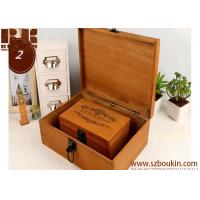 Quality Retro Style Wooden Fashion Jewelry storage box for sale