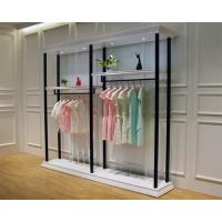 Quality Multi Function Clothing Display Racks Cloth Display Stand For Shop 1000*300*2000mm for sale