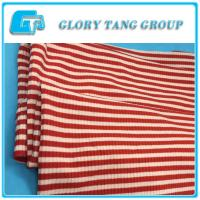 2017 Summer polyester and rayon weft knitted fabric for garment