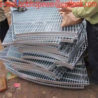 China metal building material serrated galvanized steel grating outdoor metal drain cover grating/hot dipped galvanized steel on sale