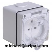 Quality Waterproof 13A power socket for sale