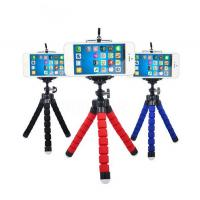 Quality Mini Portable Flexible Sponge Octopus Tripod Stand Mount With Holder For GoPro Hero 3 3+ 4 4s Phone Nikon for sale