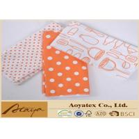 Quality 16 x 19 Inch Heat Transfer Printed Microfiber Cleaning Cloth with Overlocked Edge for sale