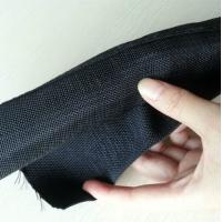 Quality Self wrapping split braided sleeving Fireproof Wrappable split braided tube for sale