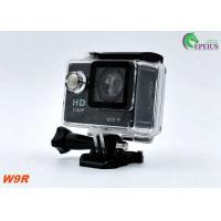 Ultral 4K OEM W9R 1080P HD Action Camera 2.4G Remote Control With X4 Digital Zoom