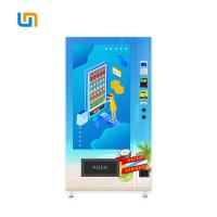 Quality Easy Control Cold Food Vending Machines , Durable Cold Beverage Vending Machine for sale