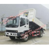 Quality China Suppliers 10Tons ISUZU Dump Truck, 8M3 ISUZU Tipper Truck, ISUZU Dump Tipper Trucks for sales for sale