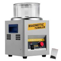 Quality KT-185 600g Gold Jewelry Magnetic Polishing Machine Magnetic Tumbler Polisher with 600g Plishing capacity , for sale