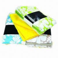 Quality Printed Microfiber Kitchen Towel, Measures 41 x 48cm, Made of 100% Polyester for sale