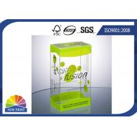 China Plastic Clamshell Packaging Transparent PVC Boxes Eco Friendly And Recycled on sale