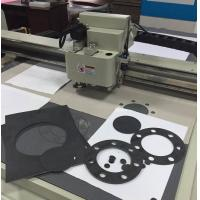 Quality Cnc cork rubber gasket sample cutting machine cutter plotter for sale