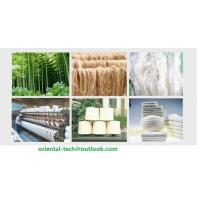 Quality bamboo fiber yarn for knitting or for weaving for sale
