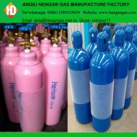 Quality High purity 99.999% helium gas in 40L 50L high pressure gas cylinder for sale