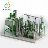Quality Industry Corn Flour Mill Wheat Processing Plant Customized Design CTCM Series for sale