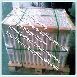 Quality Bopp flower wrapping film  Bopp flower wrapping film (BOPP foil or BOPP paper or superclea for sale