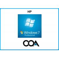 Quality Microsoft COA Label Windows 7 Professional COA Sticker With OEM Key Online Activate for sale