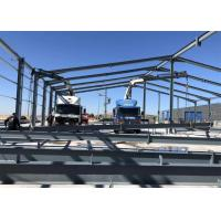 Quality Large Project Light Steel Structure Warehouse For Construction Site Anti Seismic for sale