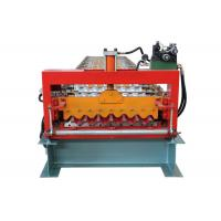 Quality Fully Automatic Corrugated Sheet Making Machine , 13 Rows Corrugated Metal Roofing Machine for sale