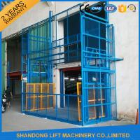Quality 5m Vertical Hydrualic Platform Lift  for Warehouse Cargo Lifting 3 ton Lifting Capacity for sale