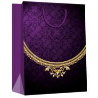 Quality Jewelry Carry Paper Gift Bags for Jewelry Shops for sale