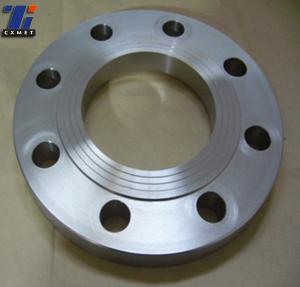 China ansi b16.5 RF 1.5inch Gr2  titanium blind flange,Class 150  SO flange on sale