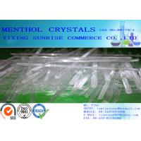 White Menthol Crystals CAS 89-78-1 C10H20O For Toothpaste / Perfume / Medical