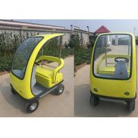 Quality 2 Seats Sightseeing Electric City Car , 1350*1155*1680 Mm Electric Sightseeing Bus for sale