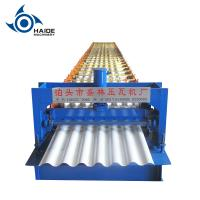 Buy cheap Metal Roofing Sheet Corrugated Roll Forming Machine , Steel Profile Making from wholesalers