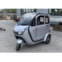 Quality 1620mm Wheel Base Battery Operated Enclosed Electric Tricycle for sale