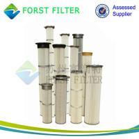 Quality FORST Supply Industrial Polyester Pleated Dust Cartridge Pulse Dust Filter Bag for sale